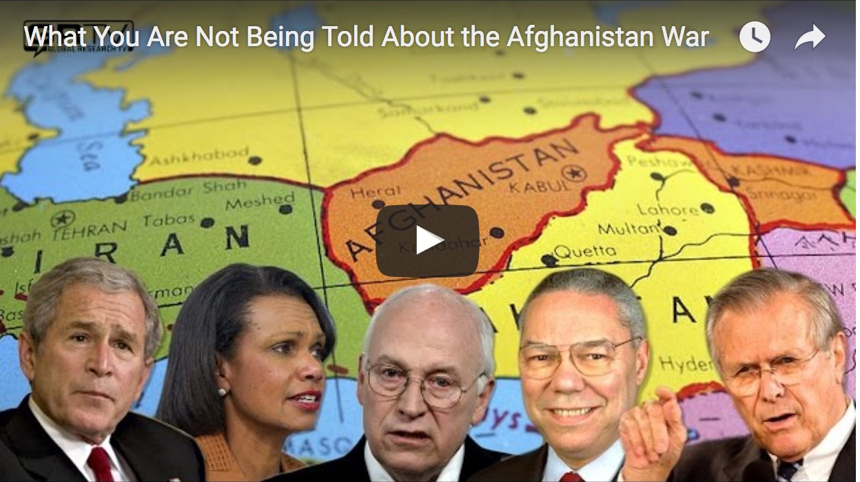 What You Are Not Being Told About the Afghanistan War