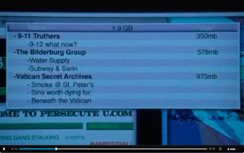 Law & Order SVU smears 9/11 Truth