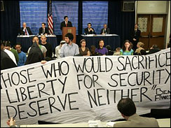 Those who would sacrifice liberty for security deserve neither.