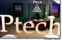 Photo of Ptech office storefront