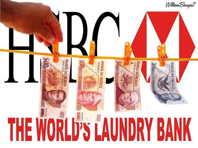 hsbc money laundering Why mueller, comey, loretta lynch and eric holder let hsbc walk on criminal money-laundering crimes in exchange for $19 billion fine.