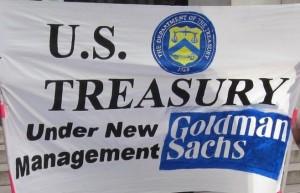 goldman sachs treasury